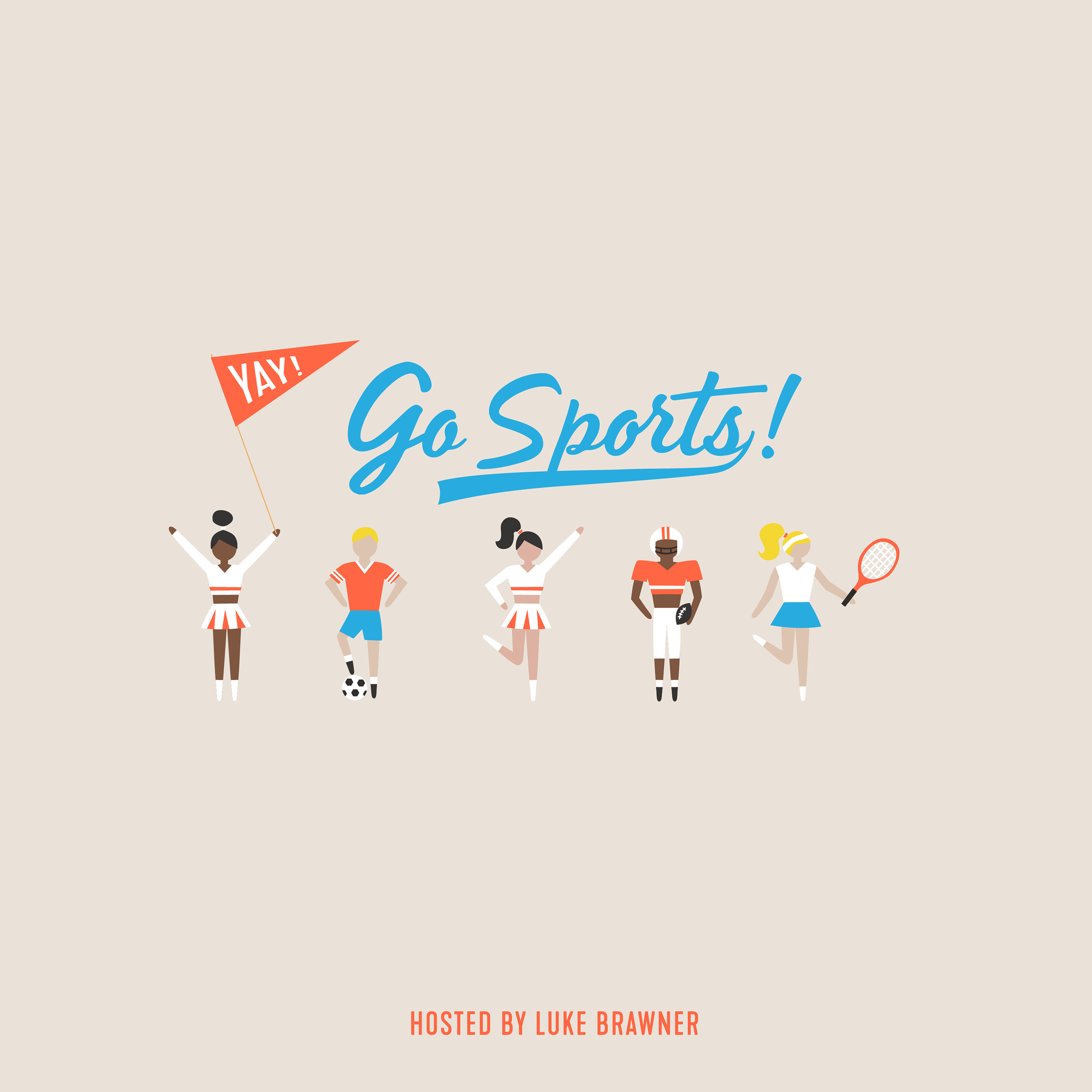 Yay! go, sports! - A remedial sports show of sorts in which sports fanatics explain sports to host Luke Brawner one question at a time. Think of it as sports talk for the B-Team.