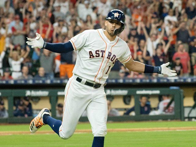  Happy 25th birthday to Carlos Correa, Houston Astros' shortstop!      #astros  #baseball #houston #mlb #sports #htown #houstonastros #htx #earnhistory  #carloscorrea
