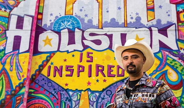 "Meet Mario E. Figueroa, Jr., also know as GONZO247, a Houston born and raised artist.⁠ ⁠ His website reads, ""He is a self-taught multidisciplinary artist with over 25 years of experience in studio art practice, mural painting, private art commissions, and community involvement. GONZO is the founder of Aerosol Warfare Studios, founder and producer of HUE Mural Festival, and founder of The Graffiti and Street Art Museum of Texas.""⁠ ⁠ Check out his website for upcoming events and workshops!⁠ ⁠ ⁠ #gonzo247 #artist #illustration #painting #artwork #creative #art #graffiti #street #urbanart #graffitiart #streetartistry #streetart"