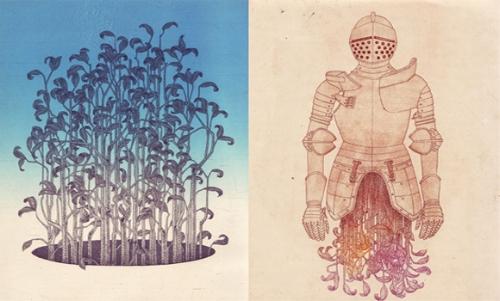 Art prints by Joe Tsambiras at Swan Gallery in Atlanta.