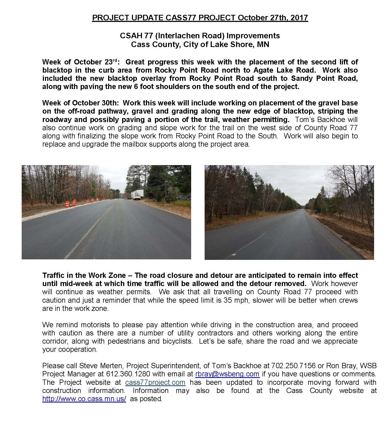 Cass County CSAH 77 Project update October 27th 2017 (002).jpg