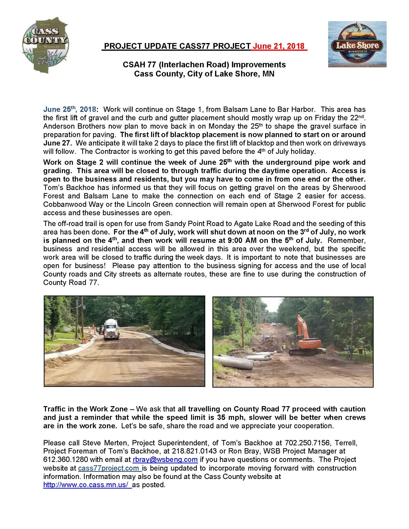 Cass County CSAH 77 Project update June 21 2018.jpg