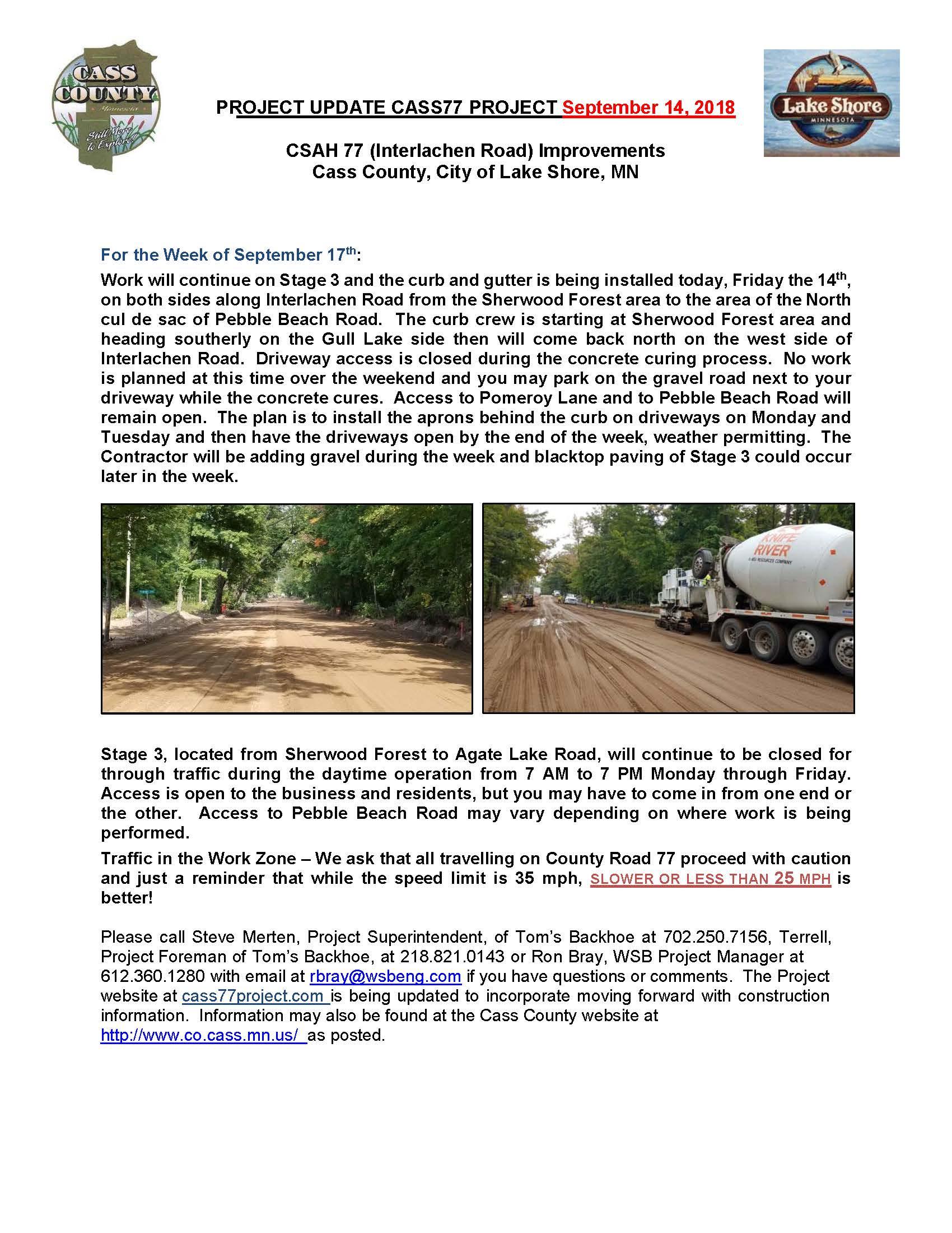 Cass County CSAH 77 Project update September 14th 2018.jpg