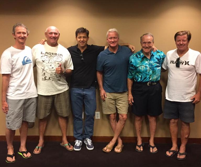 Mark Richards, Ian Cairns, Dirk Ziff, Randy Rarrick, Fred Hemmings e Wayne Bartholomew.