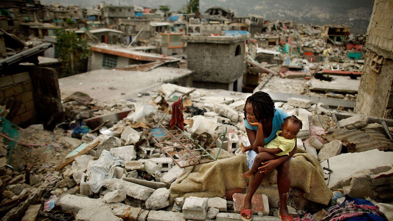 Porto Rico ficou completamente destruído após os furacões do mês passado. Foto Gawker.