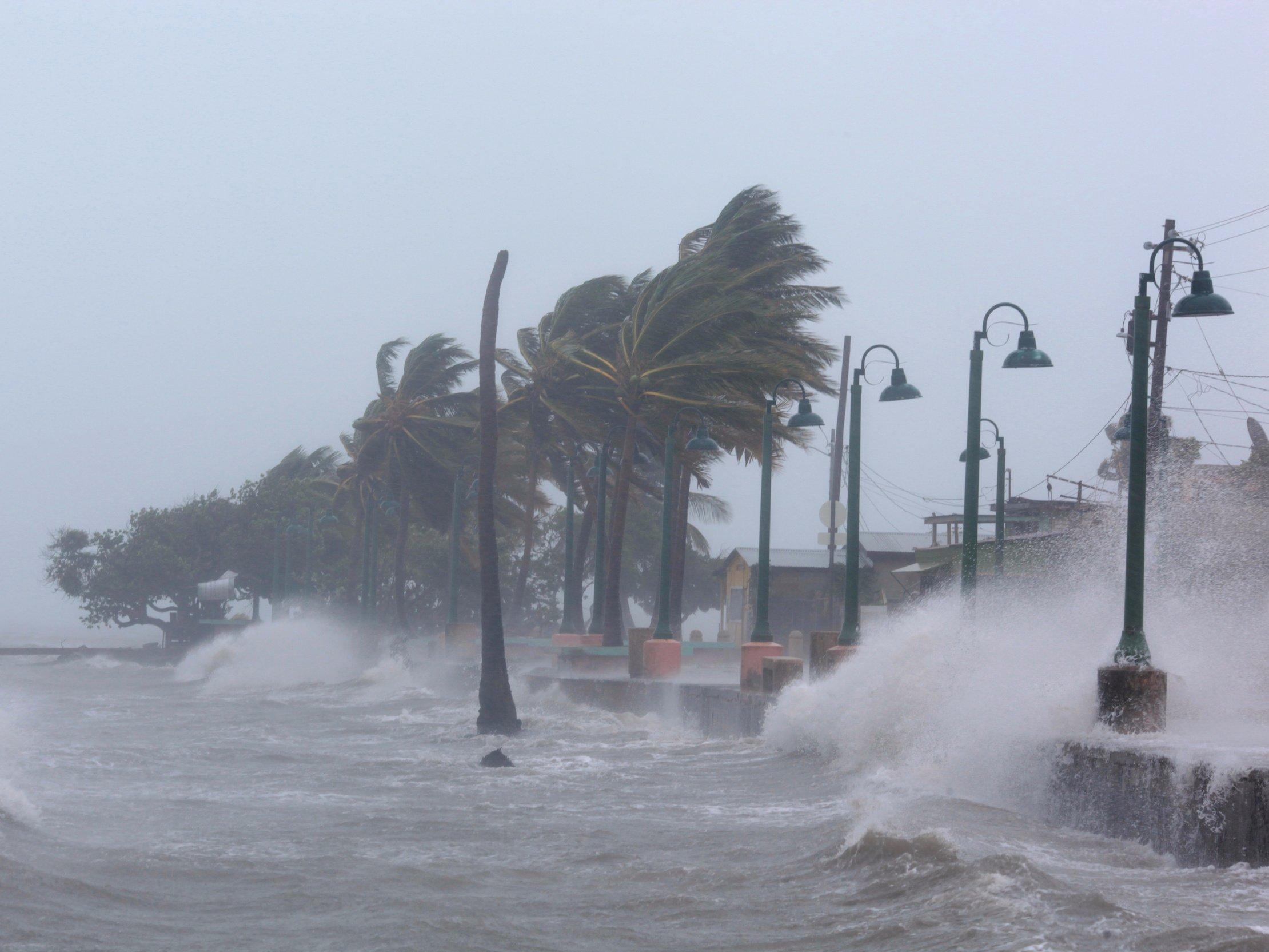 Maral dos infernos em Porto Rico.