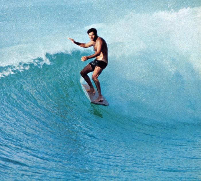 Miki Dora, em Malibu.