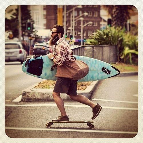 Um hipster.