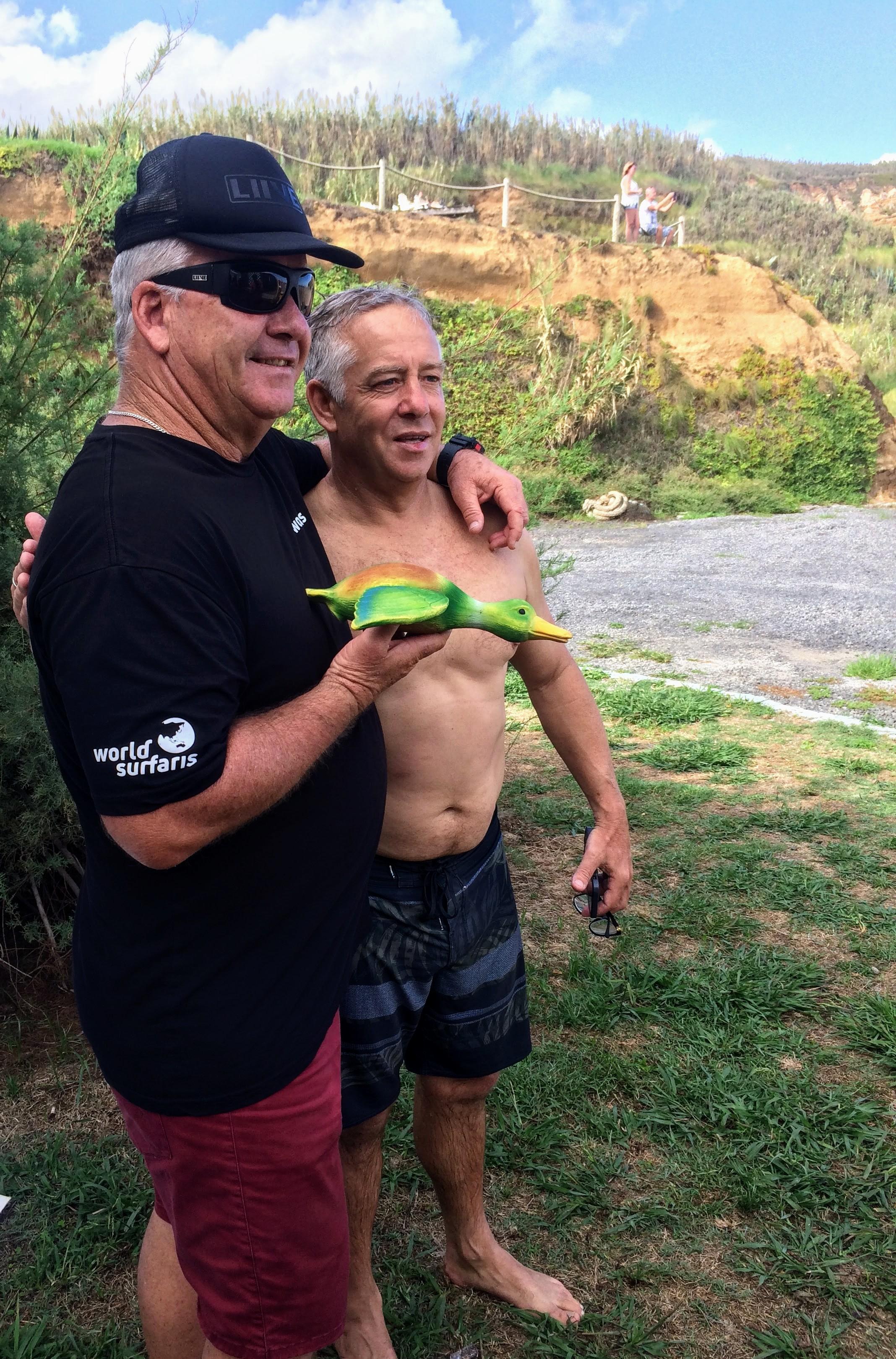 Gary Elkerton e Rob Bain