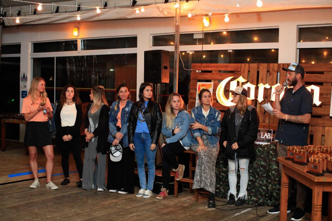 A equipe LSA durante a premiação do festival de curtas.