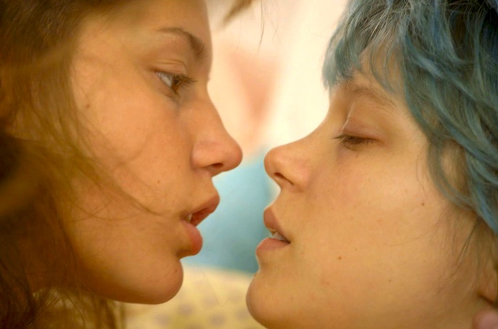BLUE IS THE WARMEST COLOR - My all times favorite movie: love and solitude, honesty and truth about the human condition, a political movie as well as an aesthetic manifesto.