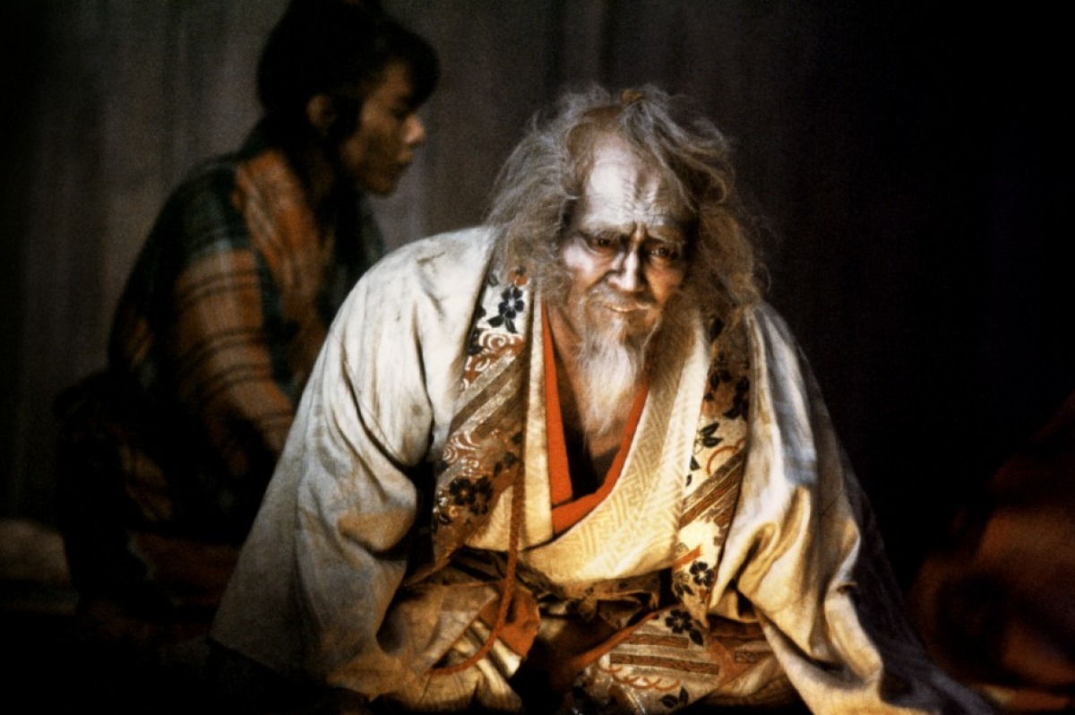 RAN - When warlord Hidetora Ichimonji passes his power to his eldest son, his entire values and life achievements fall apart in a soumptuously tragic manner.