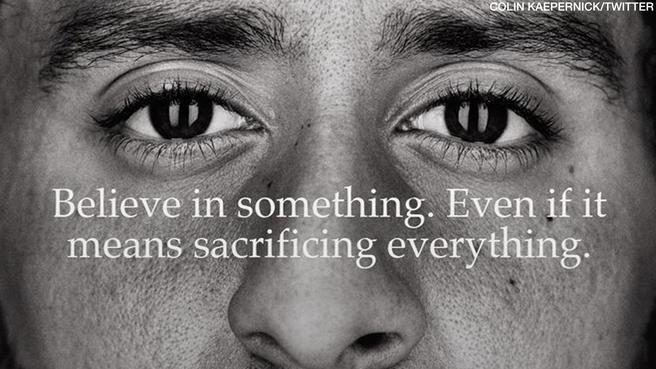 The new Nike ad featuring Colin Kaepernick.
