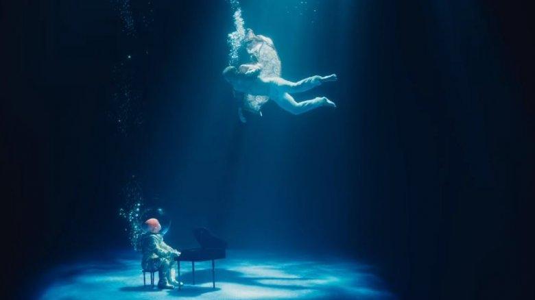 Taron Egerton diving deep as Elton John in  Rocketman