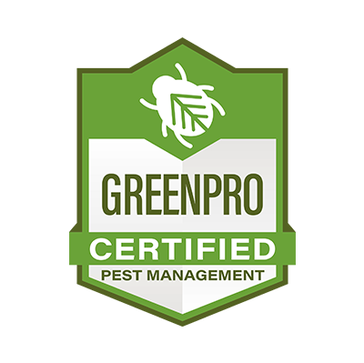 GreenPro , the world's largest and most credible green certification program for pest management professionals, recognizes companies within our industry that are committed to providing commercial and residential customers with reduced risk, comprehensive, and effective pest control services.  We comply with a comprehensive set of qualifications to ensure that you receive a smart, effective and responsible service each time a professional arrives at your door.