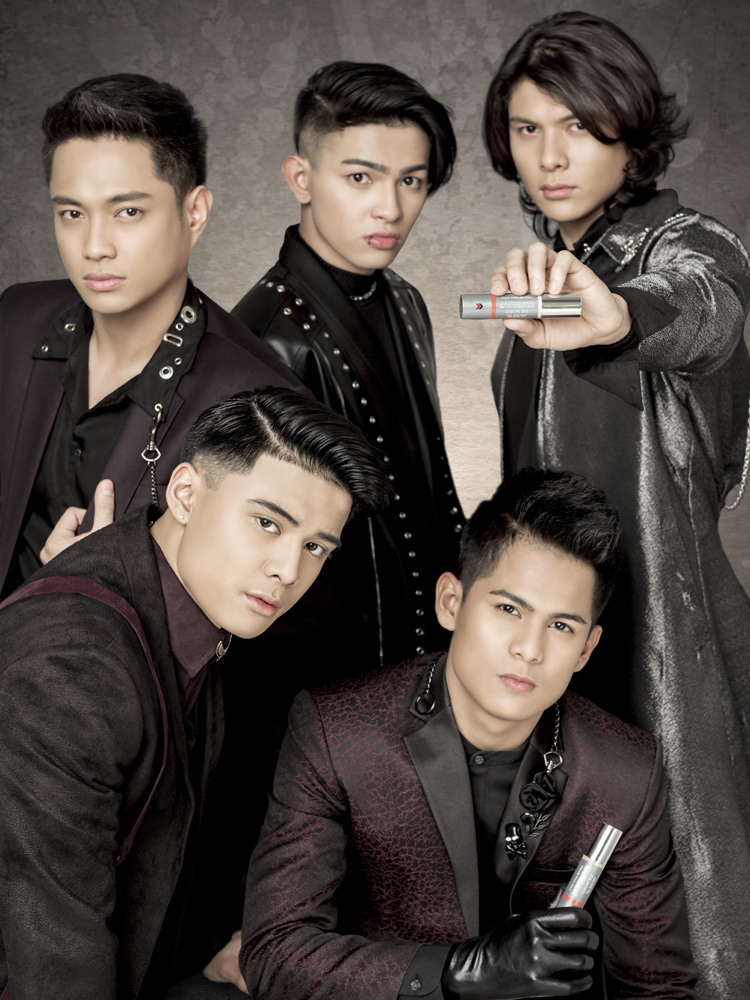 """We guys like to keep it simple. FRONTROW's DD Stick allows us to keep things simple while providing the skin coverage we need.""      - BoybandPH: Ford Valencia, Niel Murillo, Tristan Ramirez, Russell Reyes, Joao Constancia"