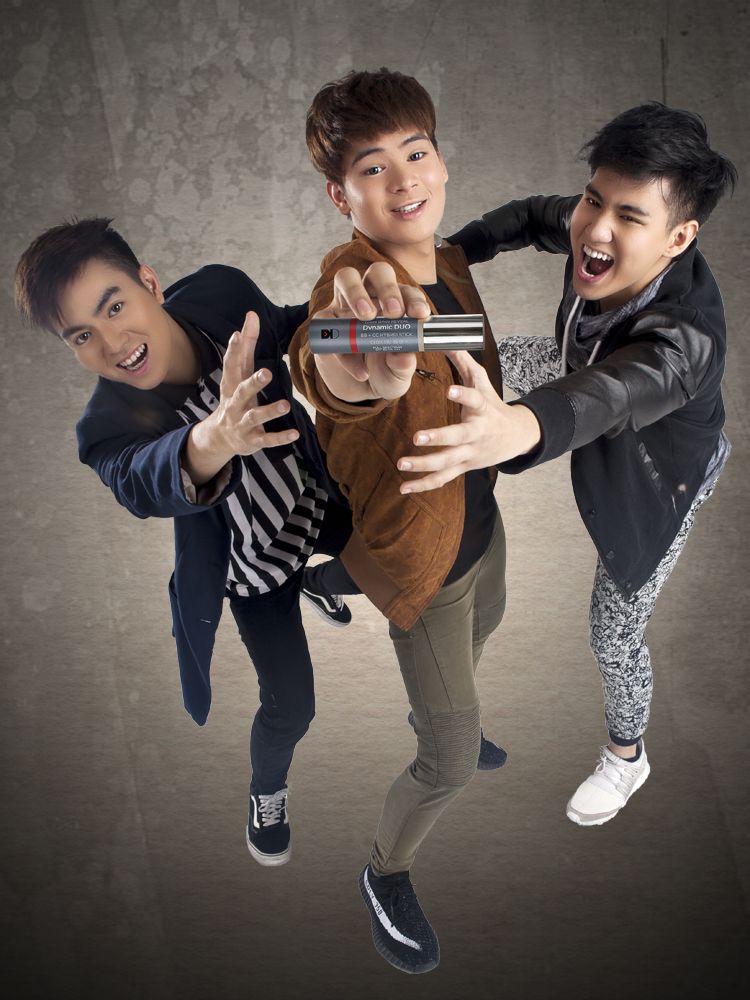 """We live and breathe FRONTROW. The reason behind our glow are the multi-awarded LUXXE products.""     - Chicser: Owy Posadas, Oliver Posadas, Clarence Villafuerte, Ully Basa"