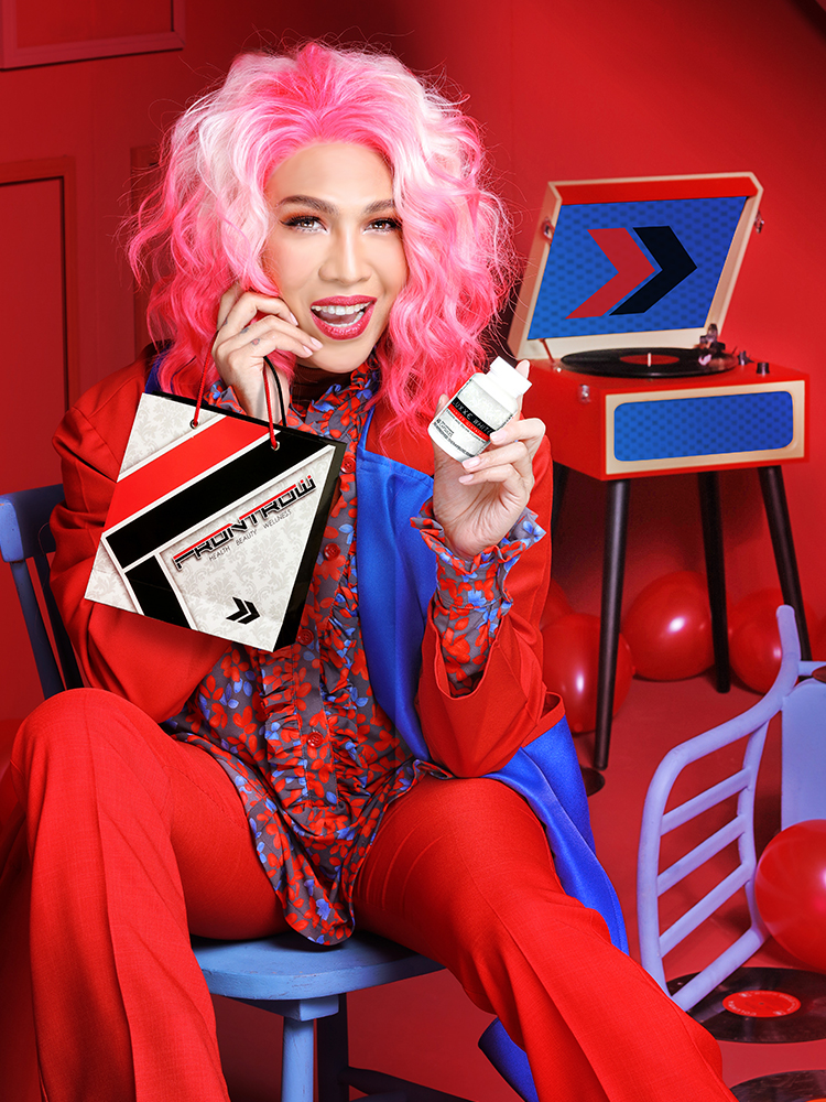 """I advise my audience to become part of FRONTROW because every Filipino deserves a beautiful life.""     - Vice Ganda"