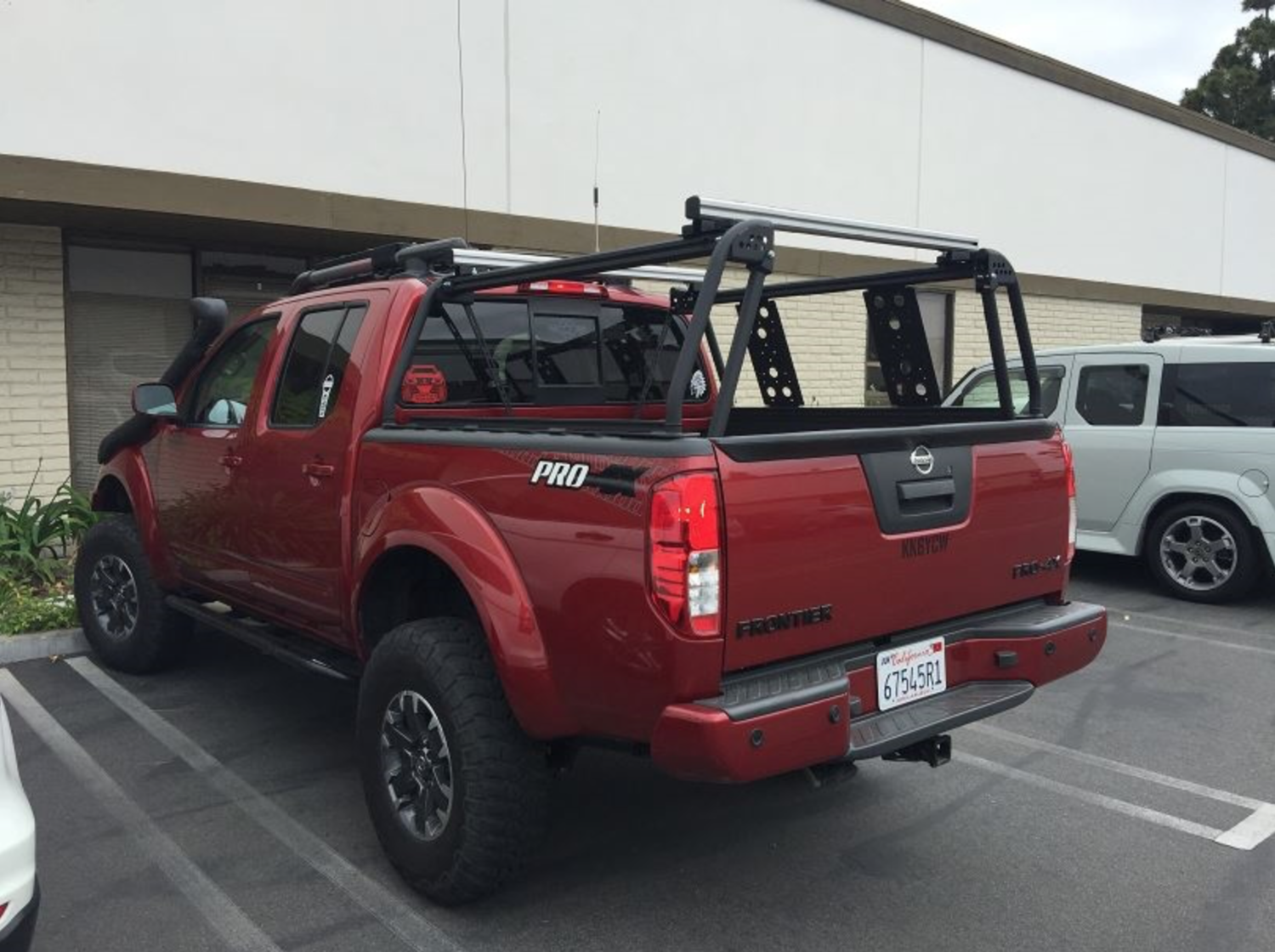 ACTIVE CARGO SYSTEM - 10-10 - NISSAN FRONTIER (MUST HAVE UTILI-TRACK  INSTALLED) — EKS TOO