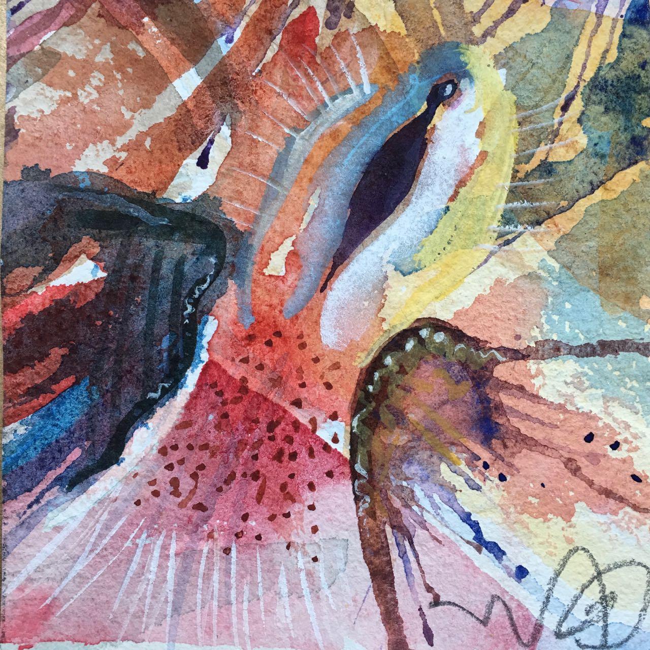 """""""Vilt"""", Gicleé fine Art 28 x28cm edition: 50 prints,  available in the web shop"""