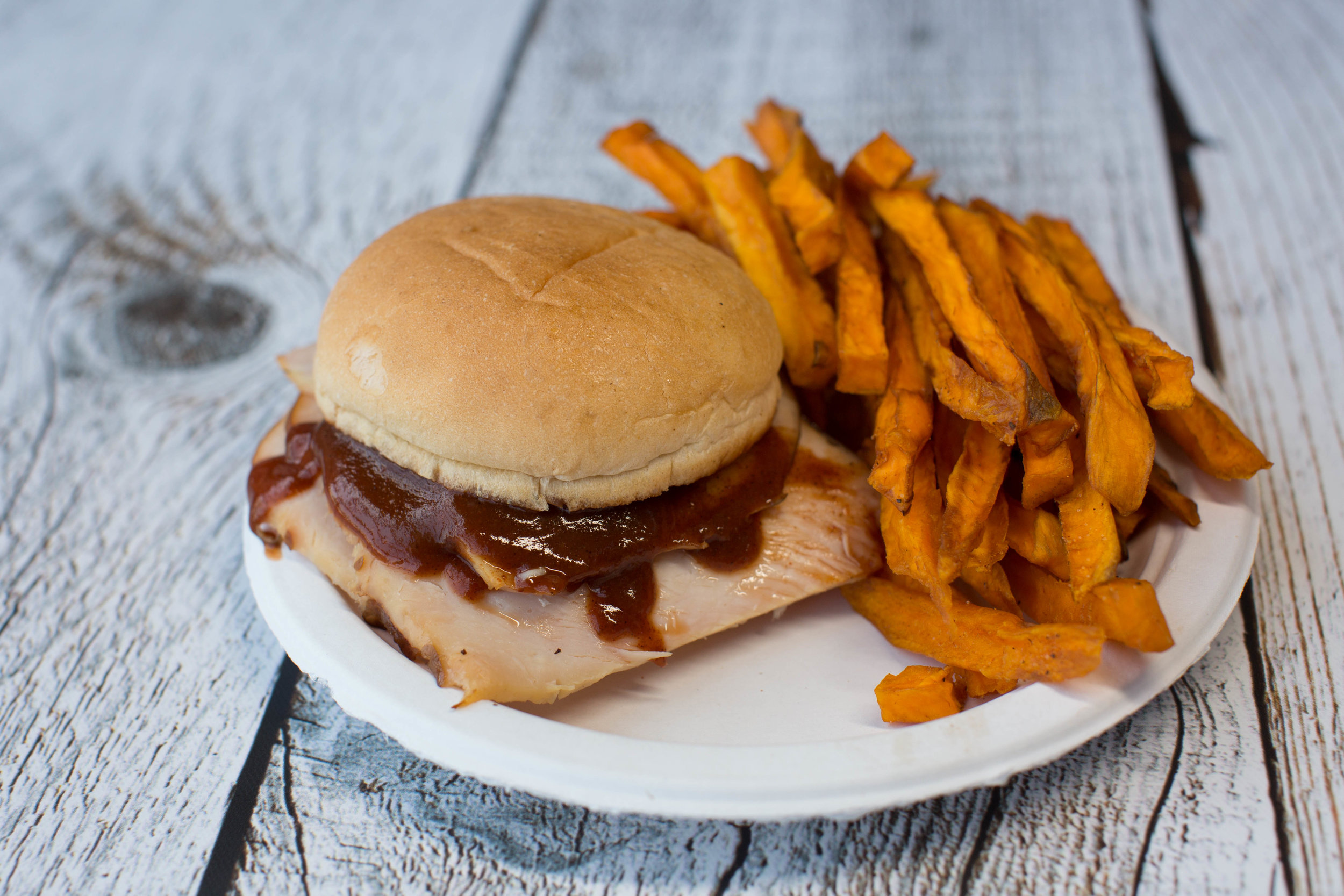 Monday Special  BBQ Sandwich + Side  $7.99