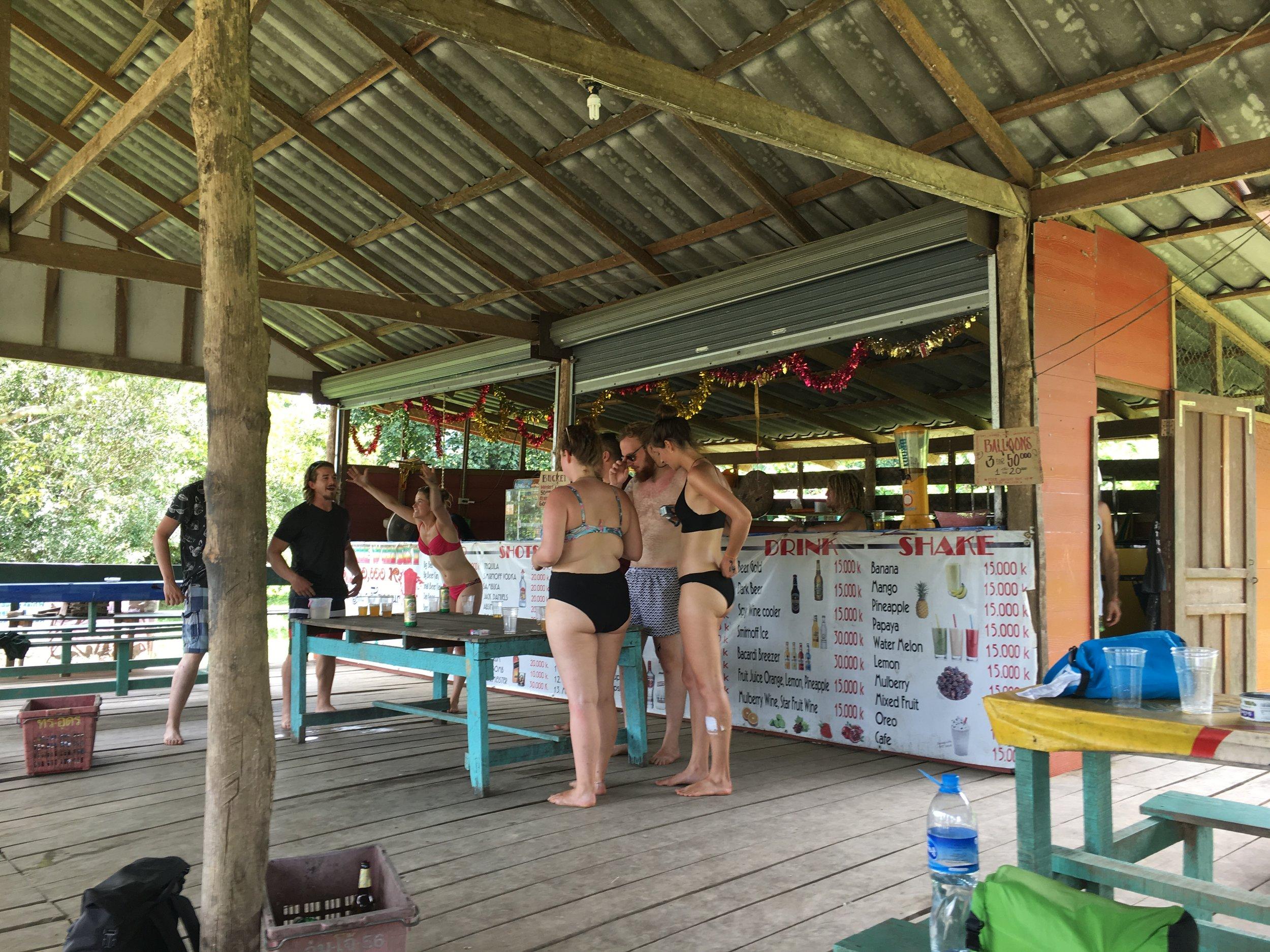 Riverside Bar, Vang Vieng   © Regina Beach