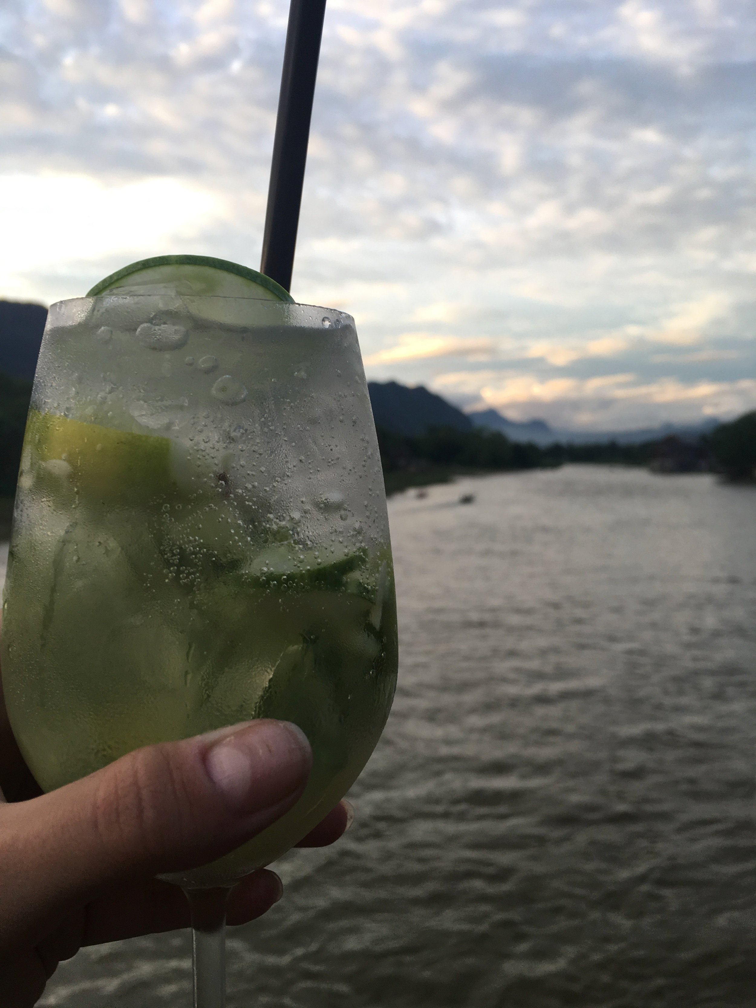 Drinks on the Nam Song | Regina Beach