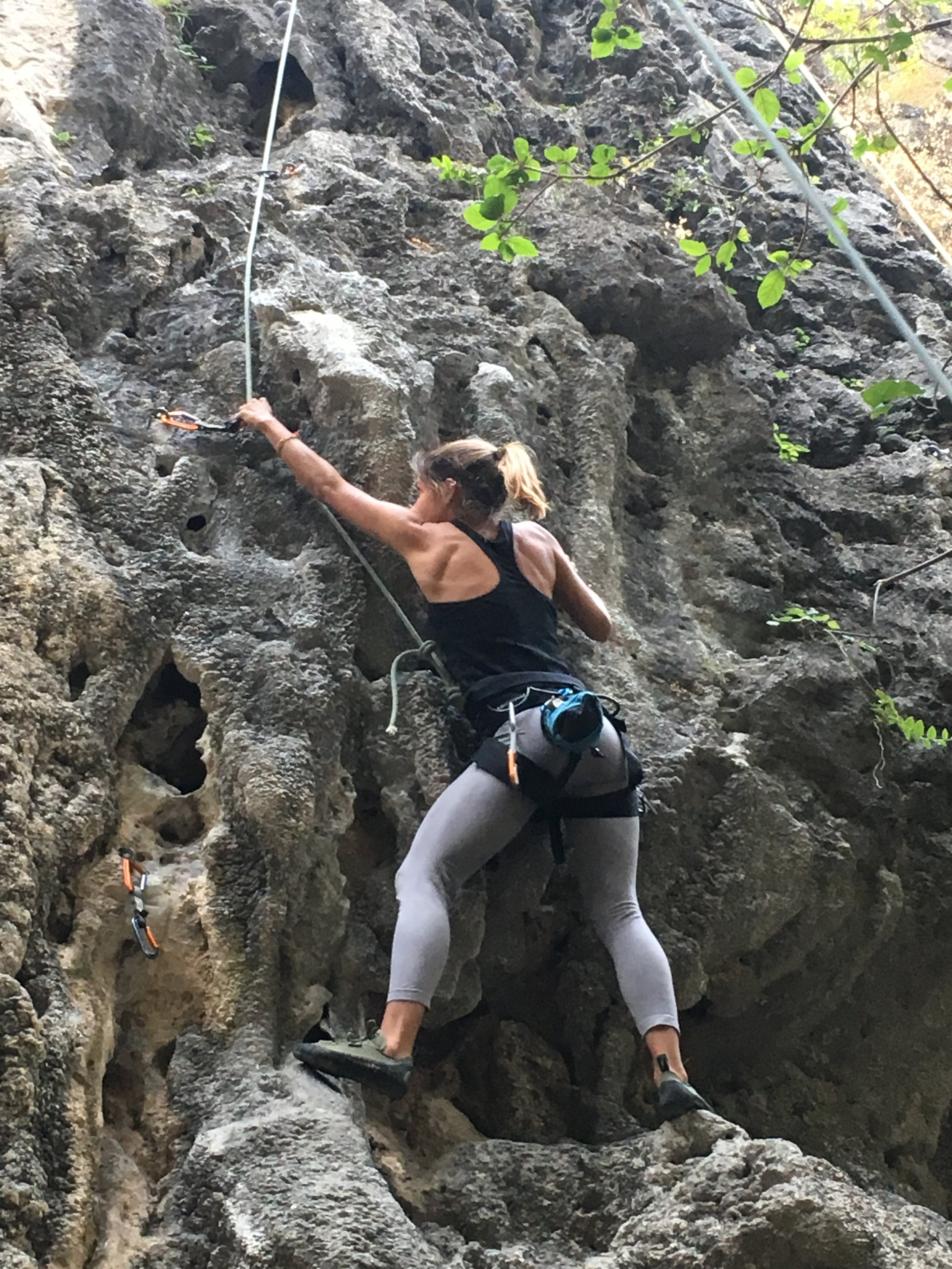 Me, climbing