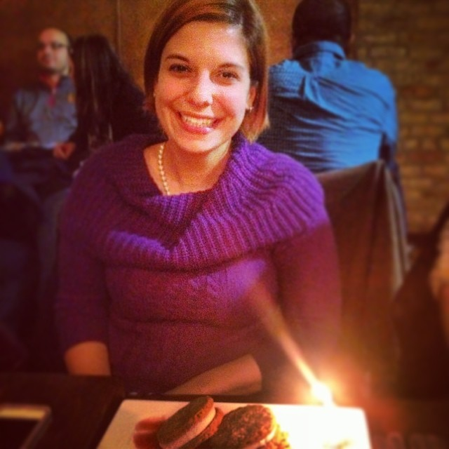 Birthday out in Chicago.