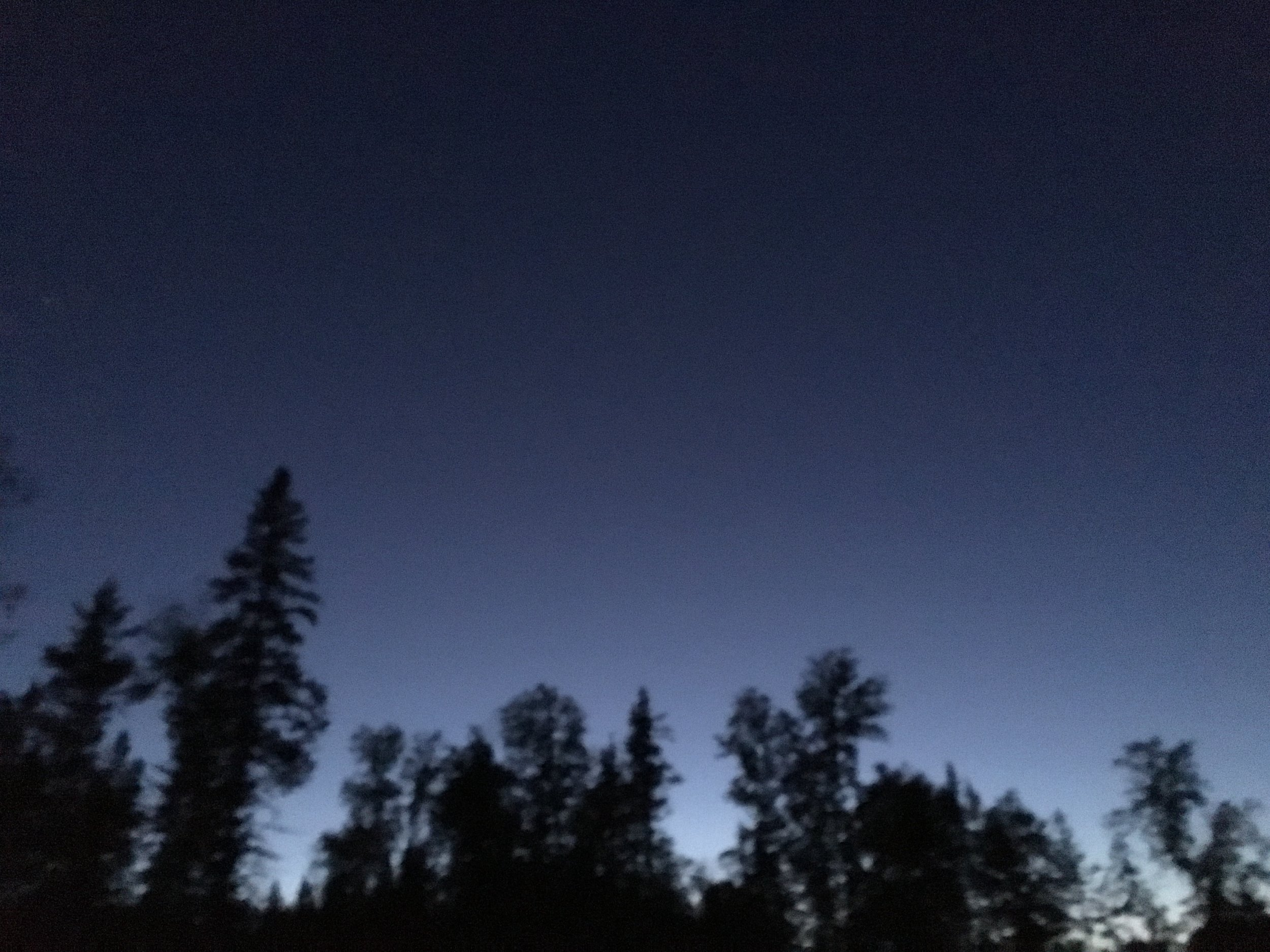 Clear weather at night means conditions are optimal for star gazing.
