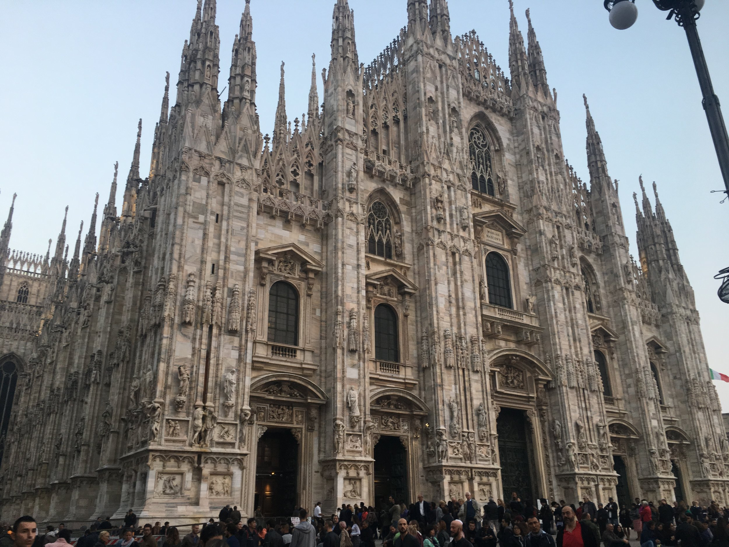 The Duomo in Milan is an incredibly impressive cathedral.
