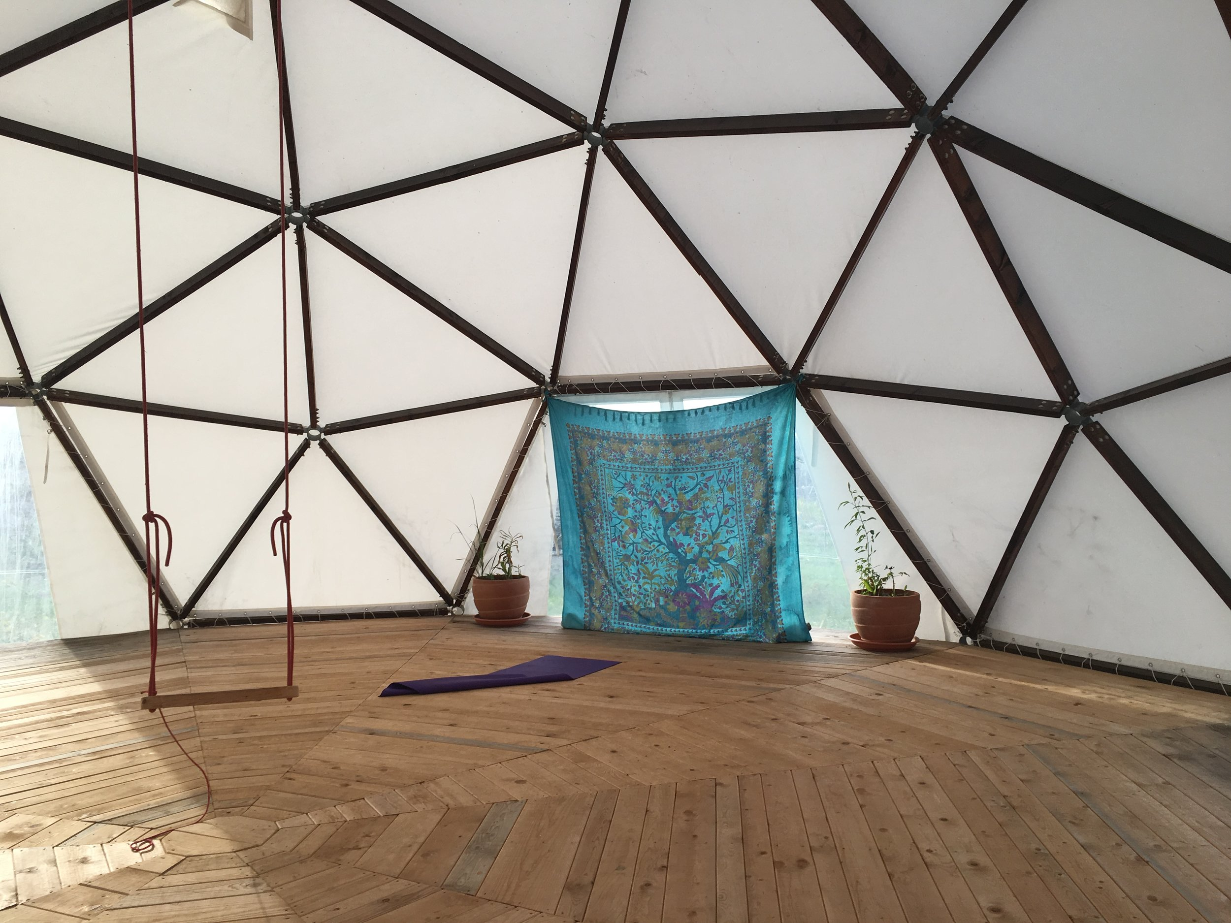 Gea Viva Yoga retreat was an incredible off the grid facility.