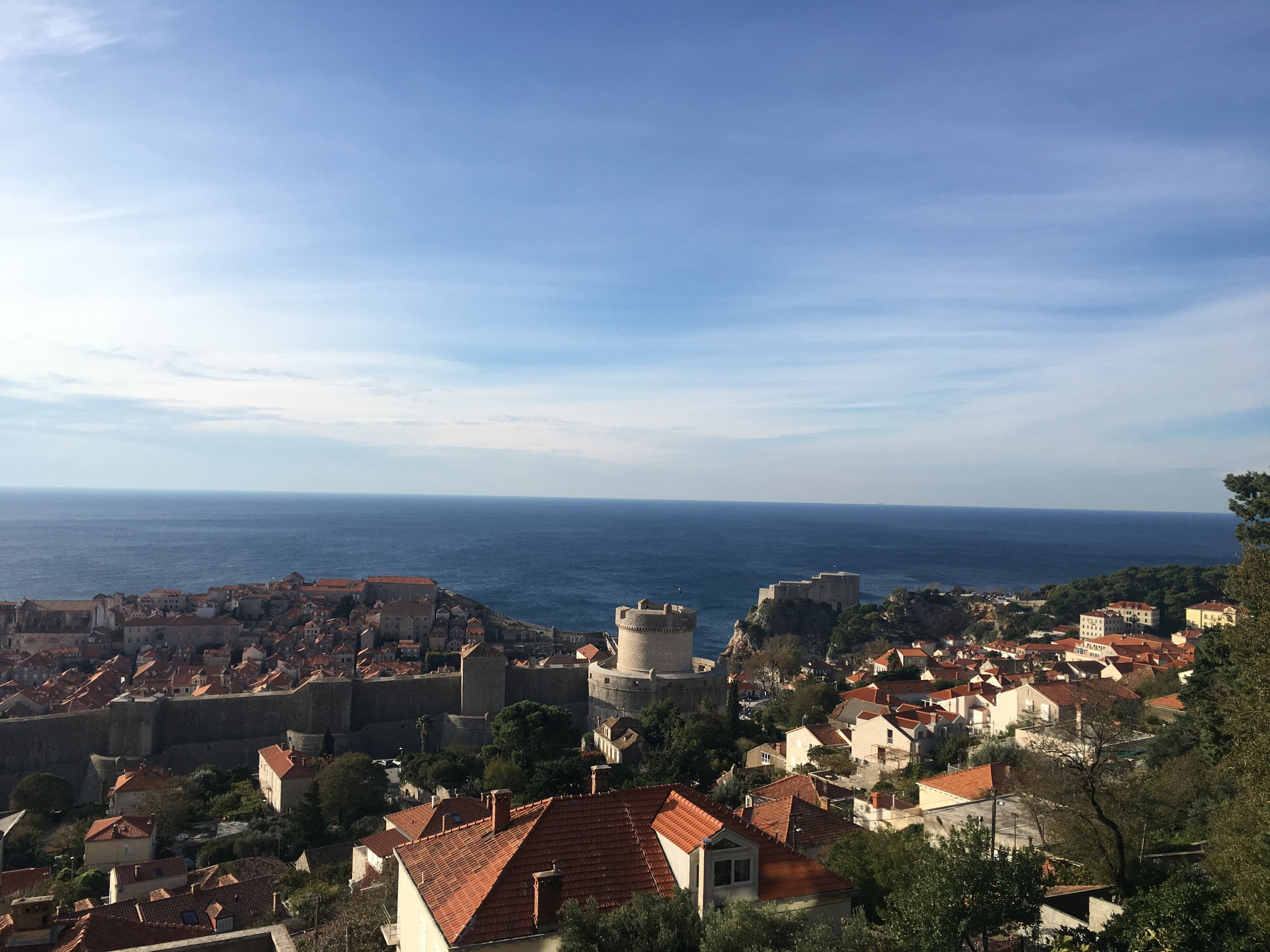 The old town of Dubrovnik is a UNESCO World Heritage Site.