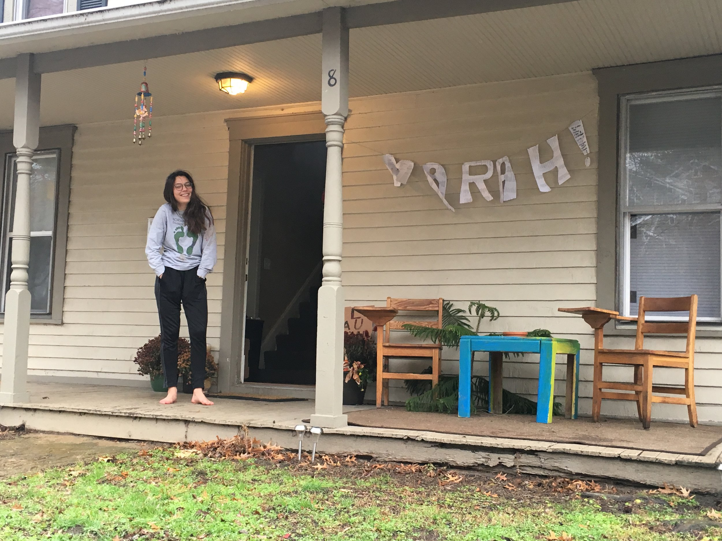 Marah's home in Athens, Ohio.