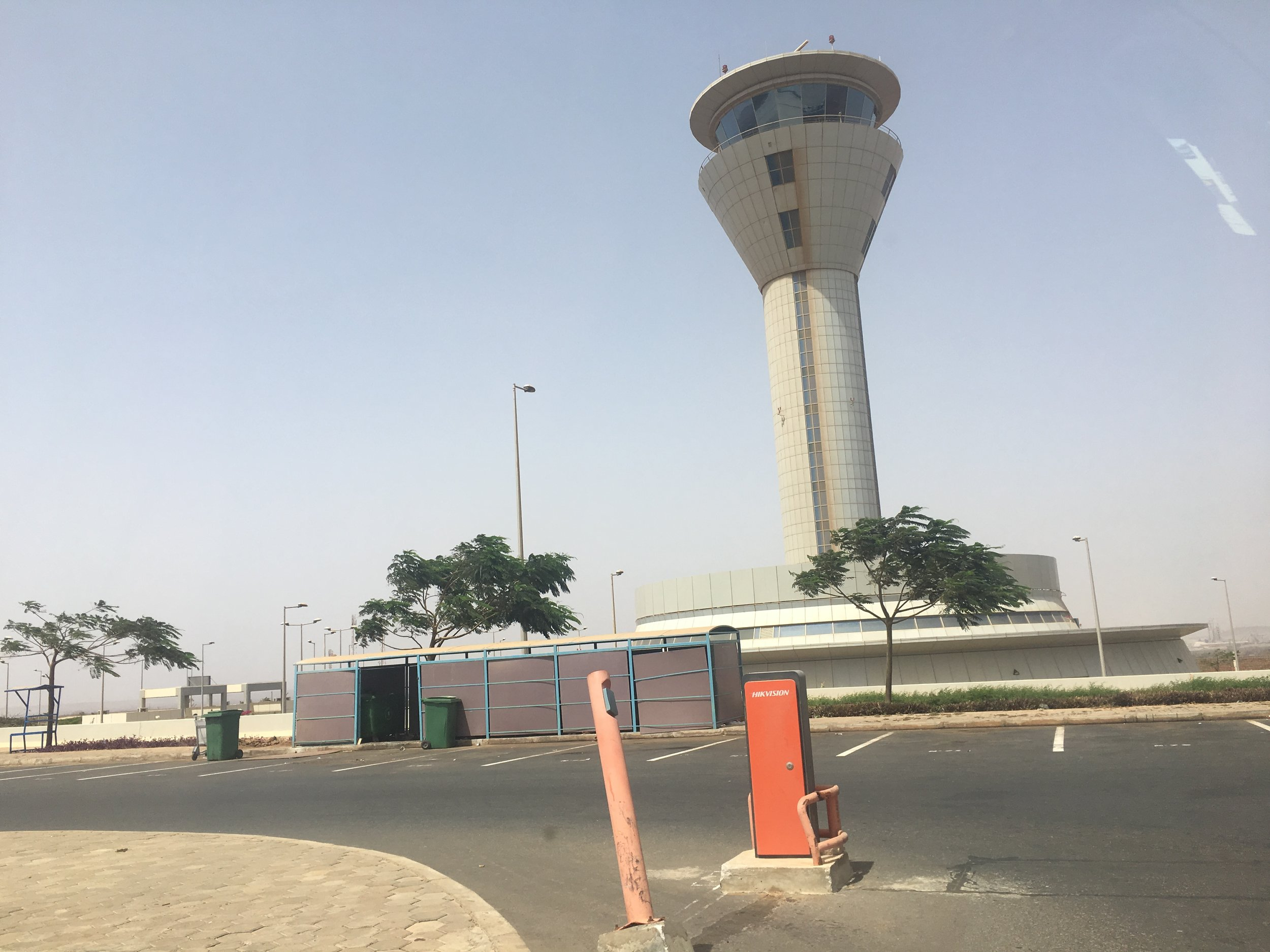 The new Dakar airport opened last year.