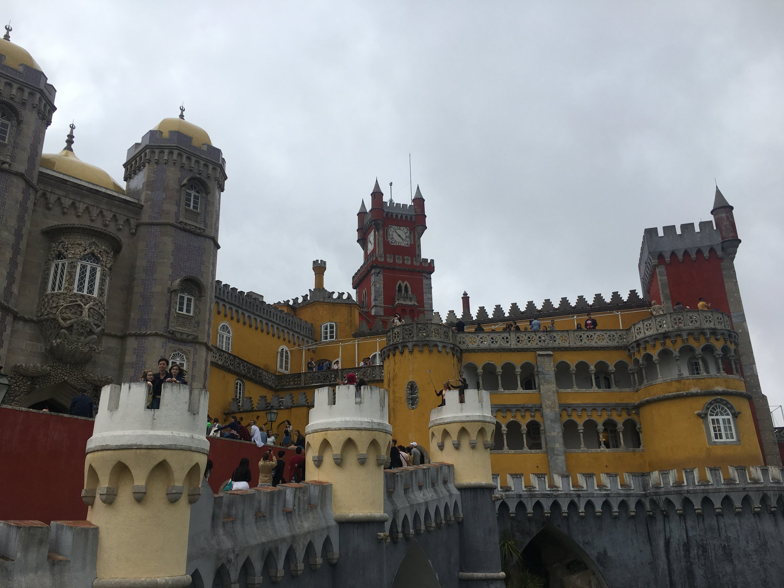 Pena is a beautiful former monestary-turned-summer palace.