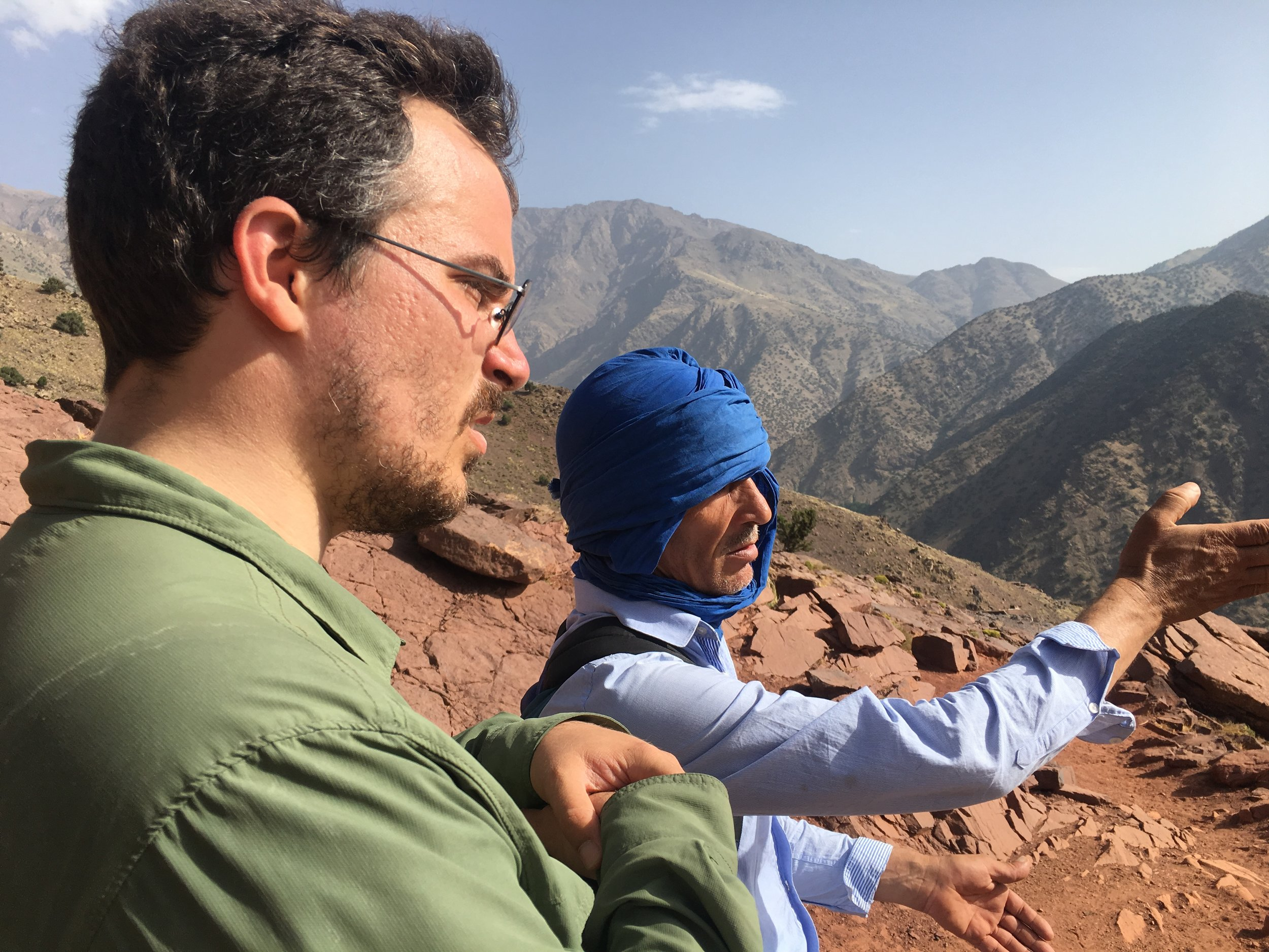 Ali knows every trail, peak and valley in the mountains and is happy to share his vast knowledge.