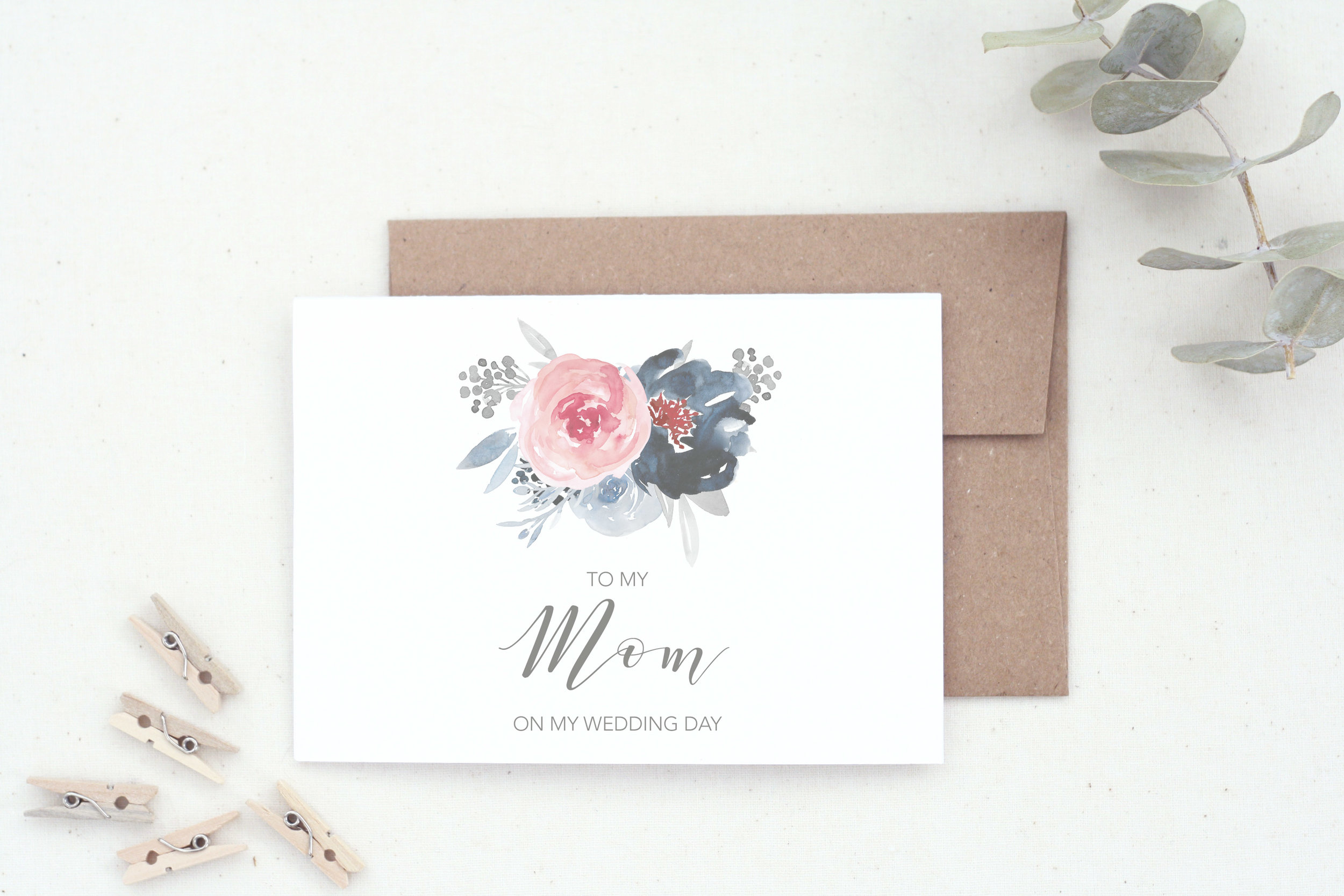 To My Mom Card by    The Tabitha Shop