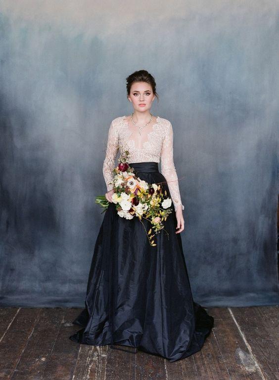 Heavenly Lace Wedding Dresses via    Aisle Society
