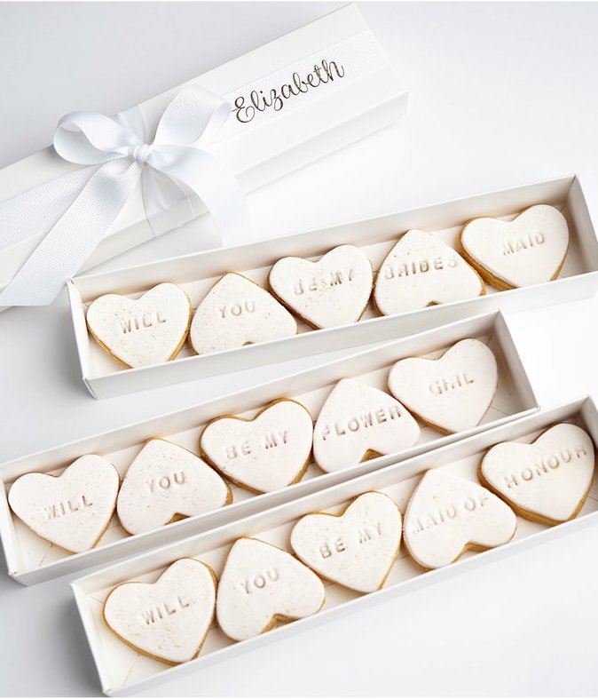 bridesmaid cookie ideas