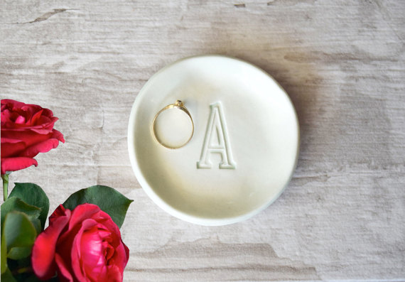 ring dish bridesmaid ask
