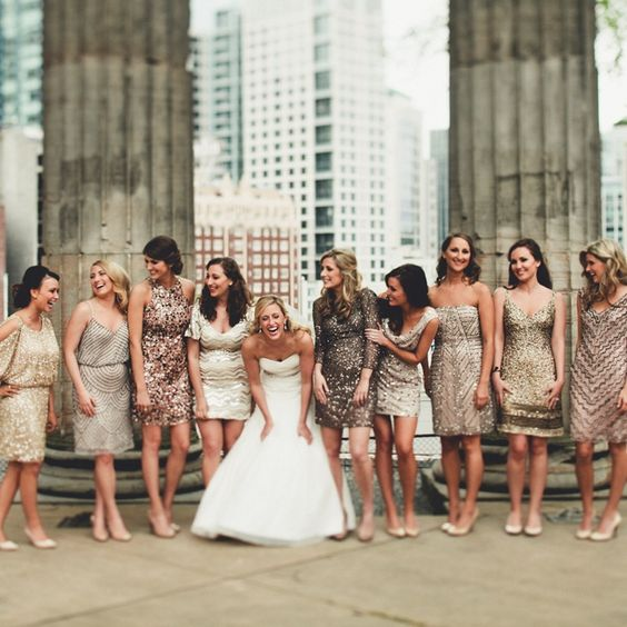 Photo by  Andria Lindquist  via  The Knot