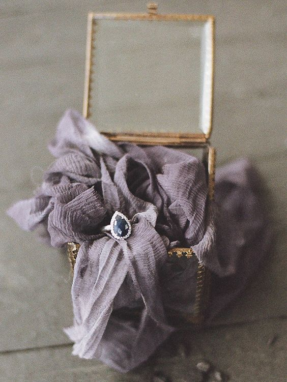 Pale Purple Ombre Wedding Ring Photo by  JESSICA WATSON PHOTOGRAPHY , Ring from  BELESAS  via  BURNETT'S BOARDS  via  Hey Wedding Lady
