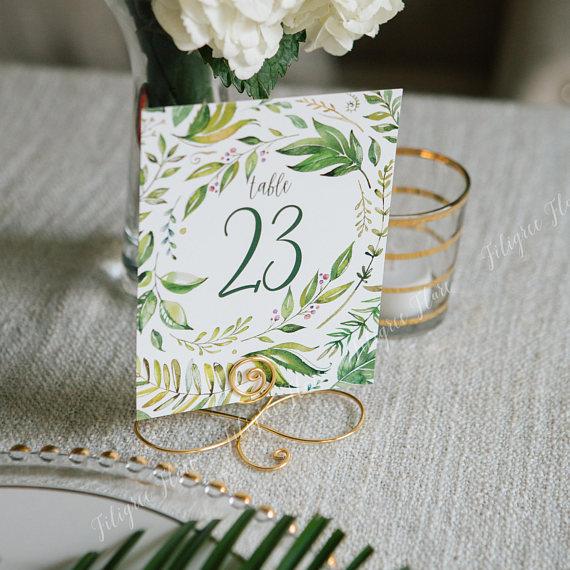 gold filigree wedding