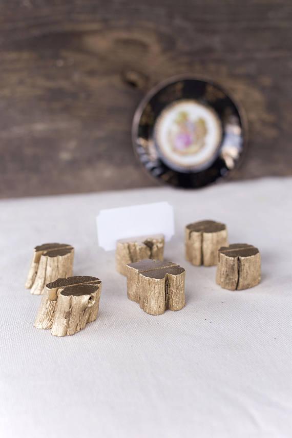 mini wooden stumps
