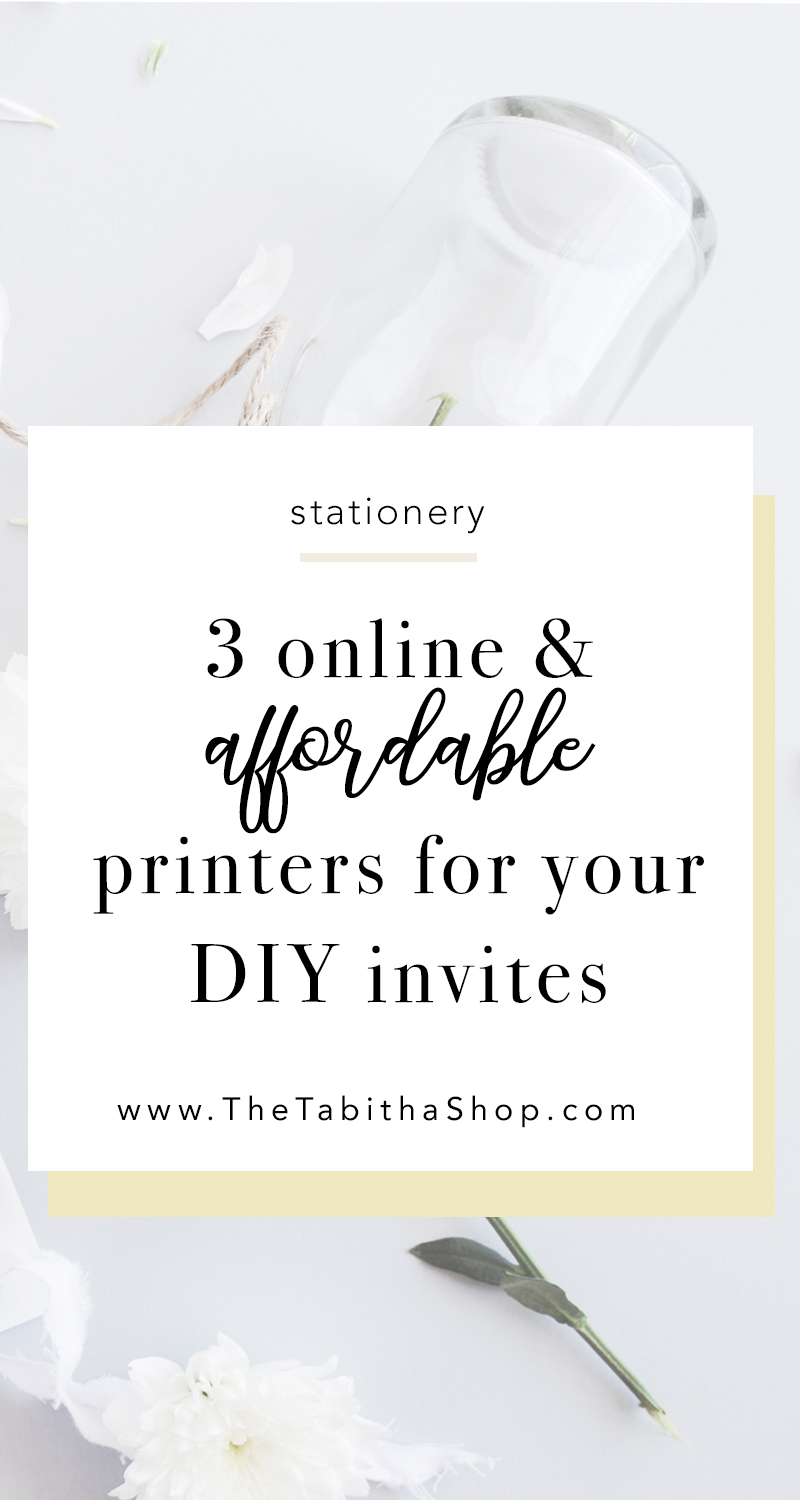 online printers for printable wedding invites