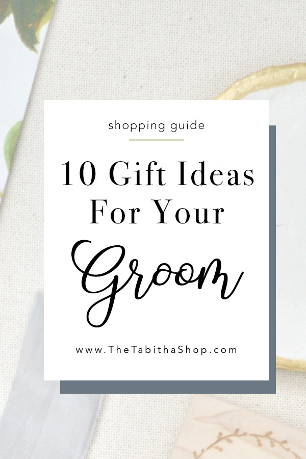 gifts for groom on wedding day
