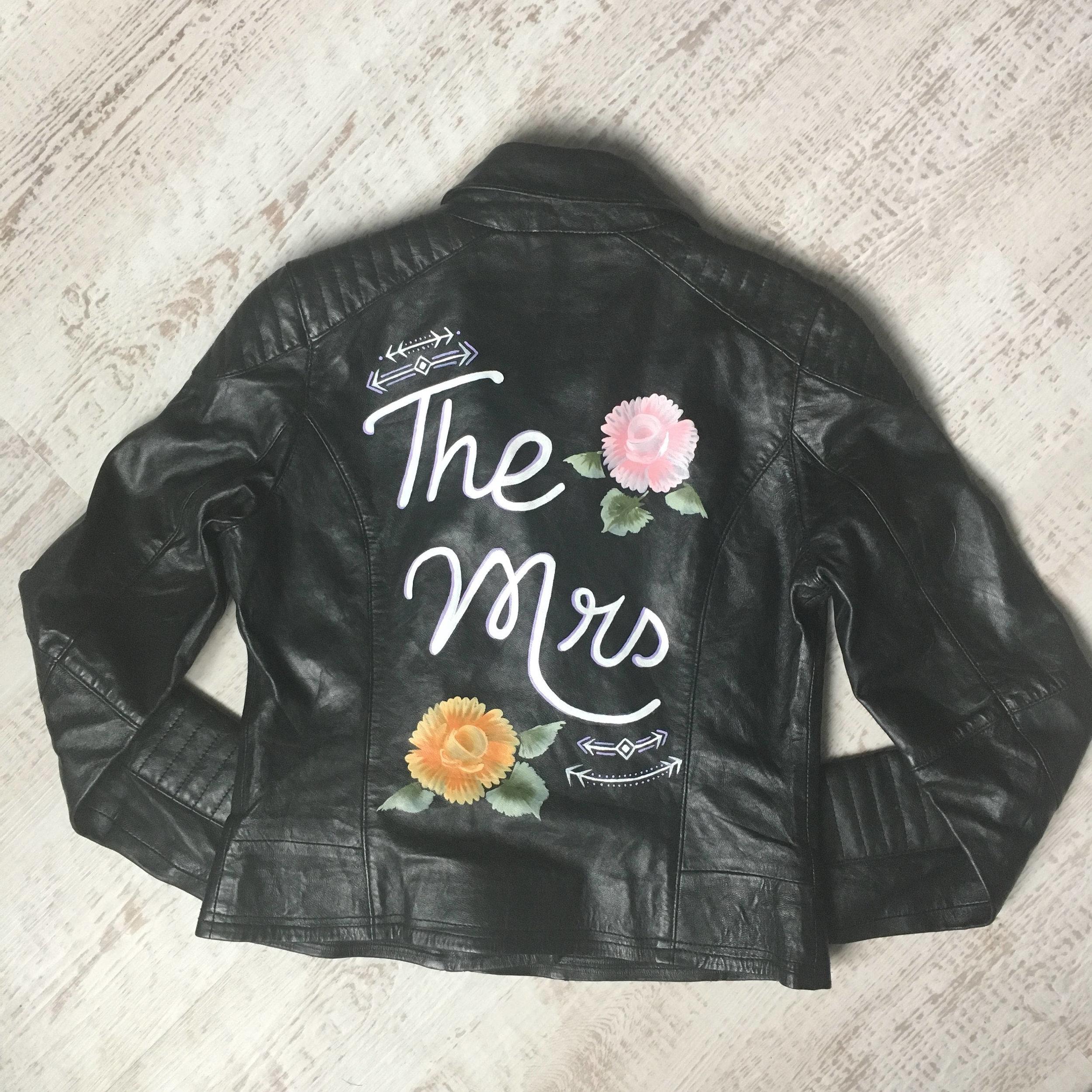 leather mrs jacket