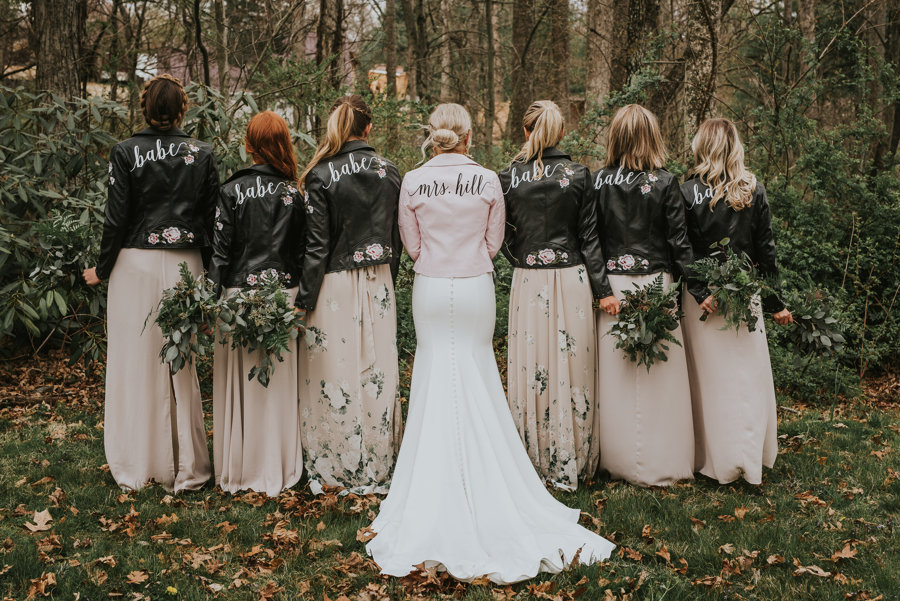 Jackets by Bleached Blonde Bride (scroll down for links!)
