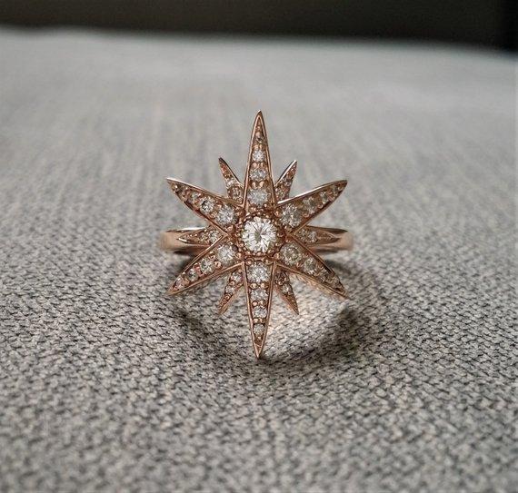 star wedding ring